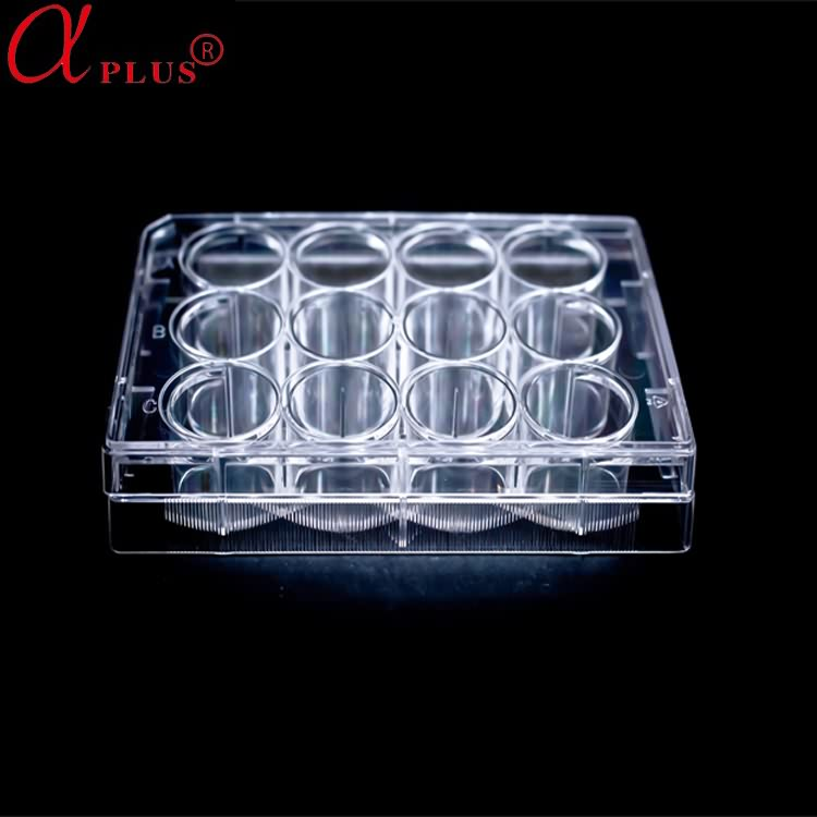 disposable medical plastic 96 well tissue culture plate