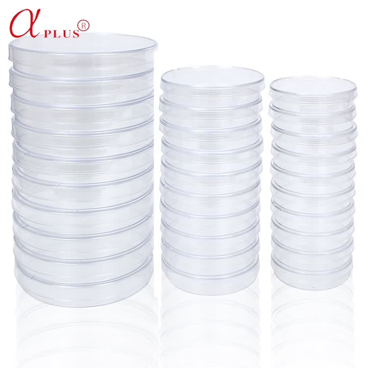 Medical Disposable Sterile 90mm Plastic Or Glass Petri Dish