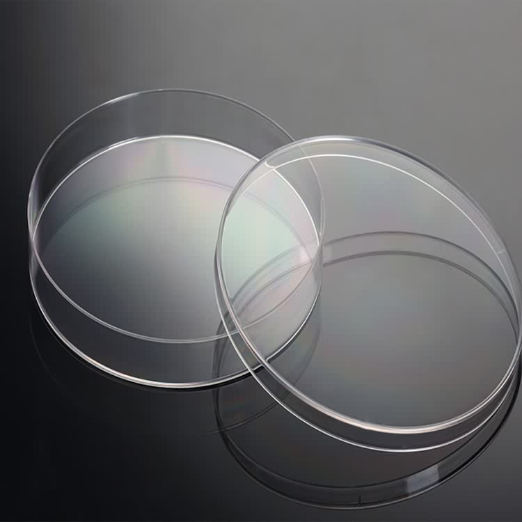 ISO&CE approved disposable plastic or glass 150mm petri dish
