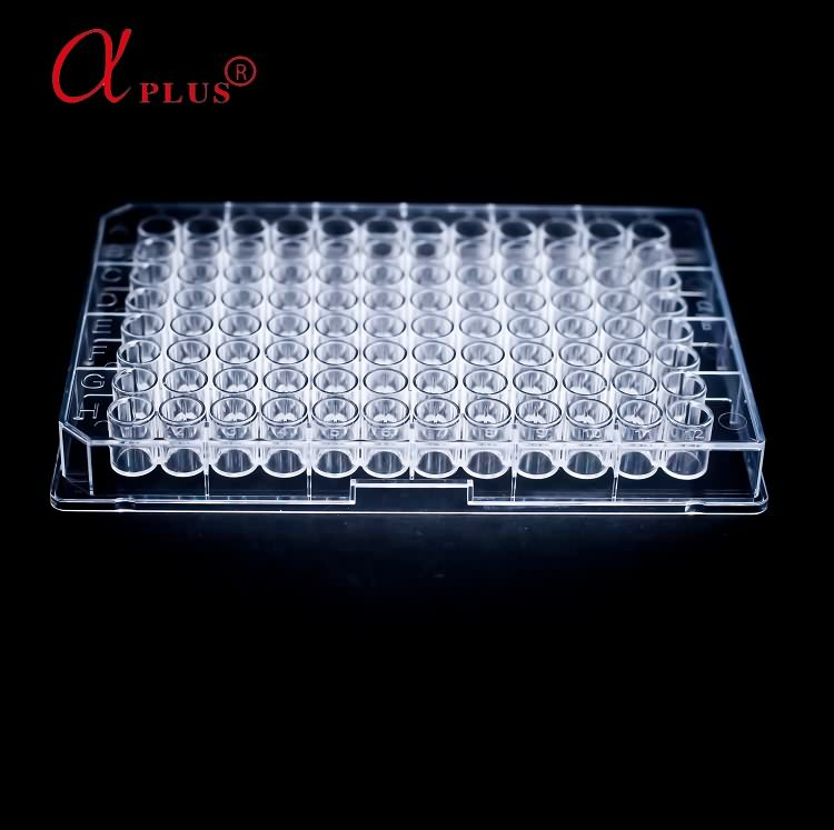 Medical lab consumable flat bottom elisa plate 96-well microplates