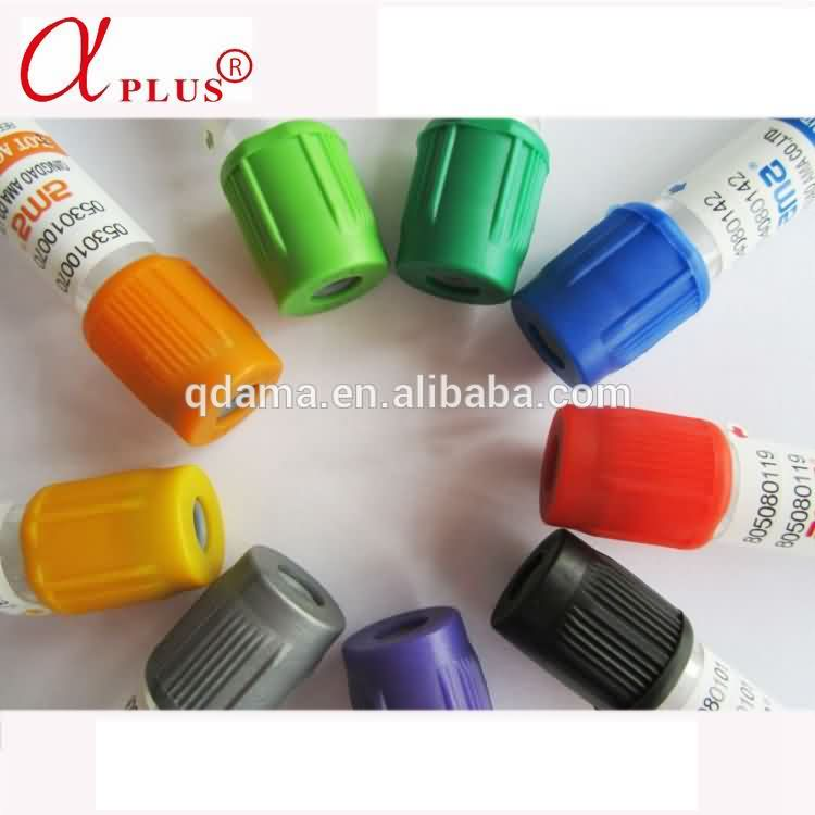Orange PET clot additive bd vacutainer vacuum blood collection tube