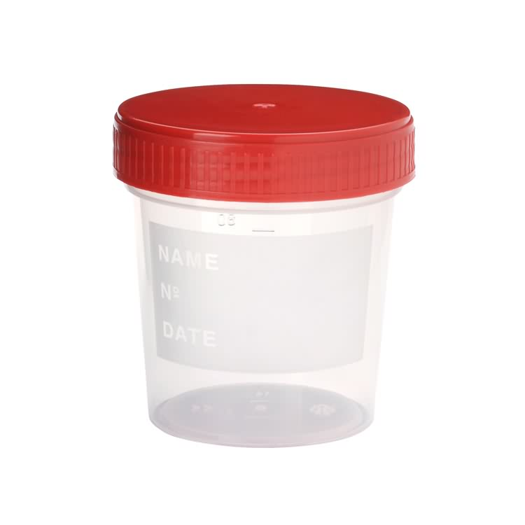 Disposable Chemical Medical Measuring 60 ml Urine Cup