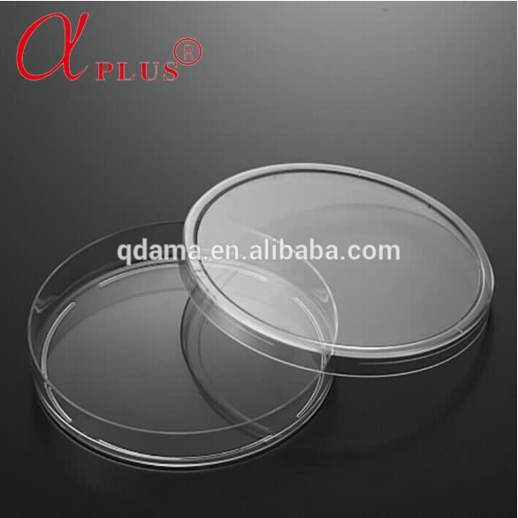 Lab 150mm PS disposable sterile types of glass petri dish container
