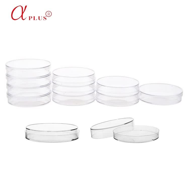 Lab Disposable Plastic  35mm 60mm 65mm 70mm 90mm 150mm Sterile Petri Dish