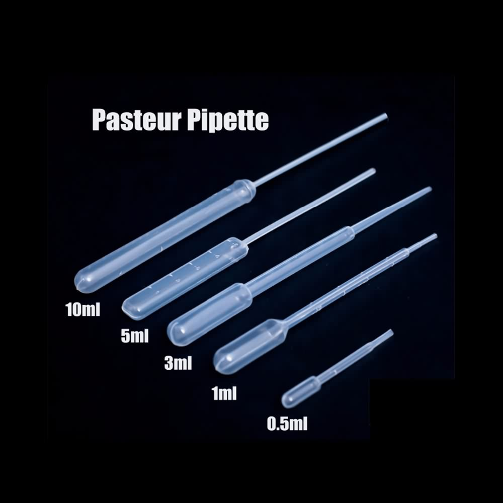 High Quality 0.5 1 5 10 3ml Free Sample Disposable Plastic Pasteur Transfer Pipette