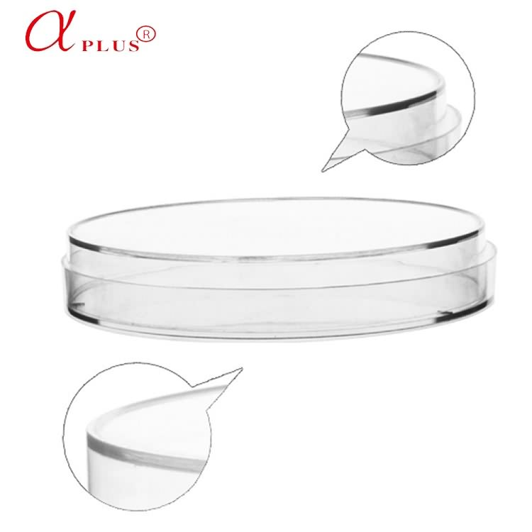 qingdao AMA 90mm*15mm standard Lab plastic types of petri dishes sterile