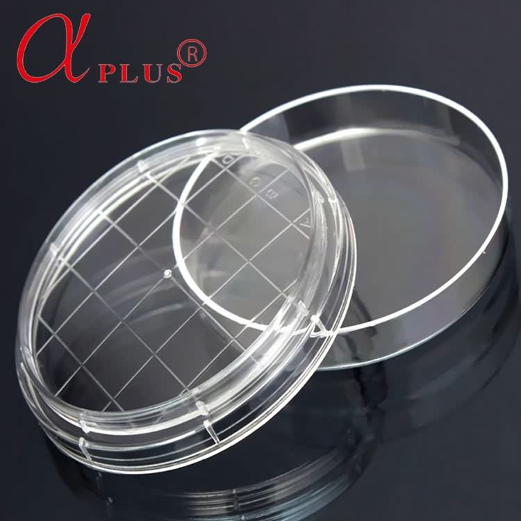 Different size plastic disposable sterile 9cm petri dishes