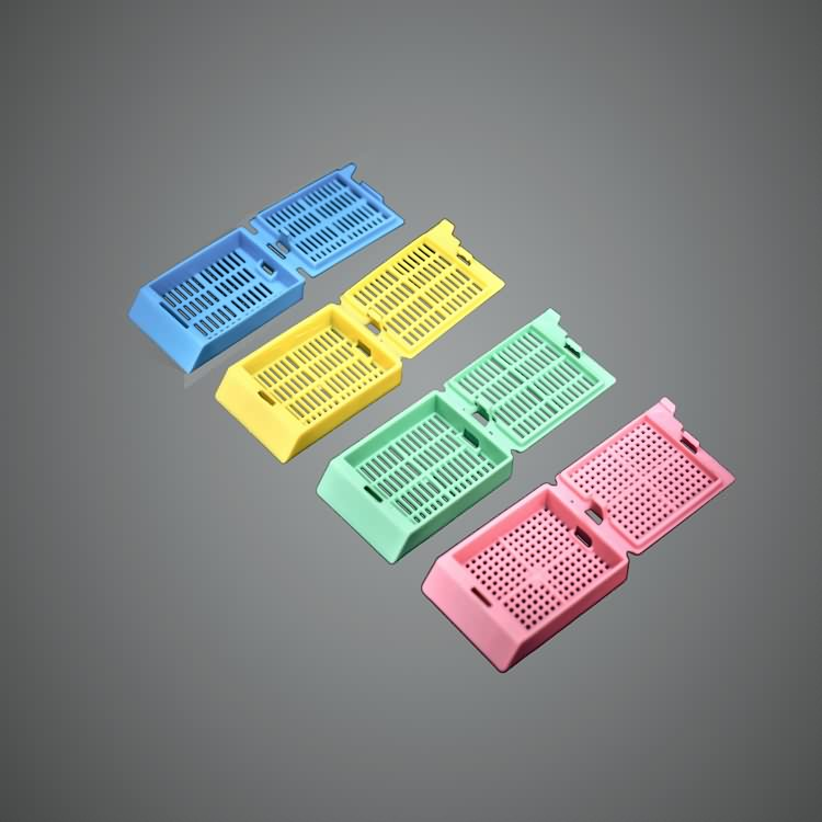 AMA disposable lab plastic embedding cassette with low price