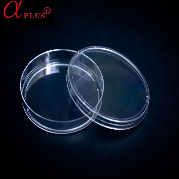 CE approved disposable plastic 90mm petri dish