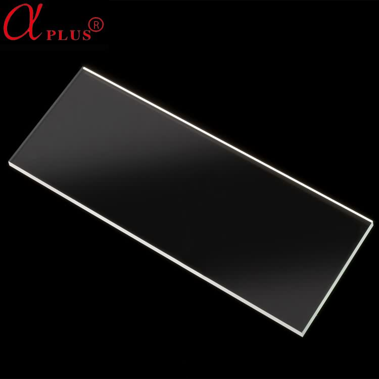 High quality lab consumable plastic microscope slide