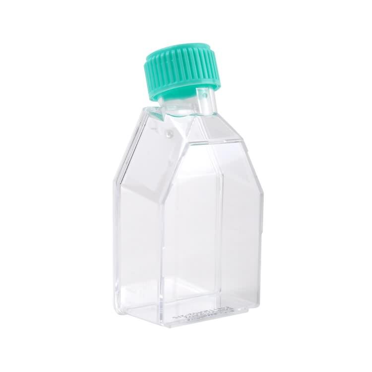 50ml 250ml rectangular canted neck laboratory plastic tissue culture bottle flask