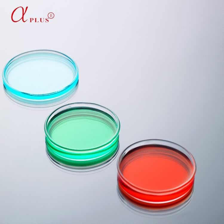 Plastic disposable sterile petri dish 60mm*15mm