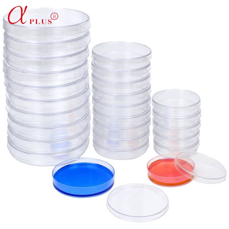 Laboratory disposable consumables  plastic 35 60 65 70 90 150mm petri dishes