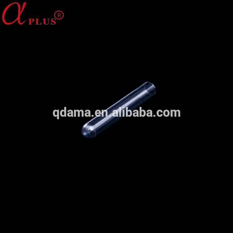 Cheaper price disposable plastic PS laboratory test tube with screw cap