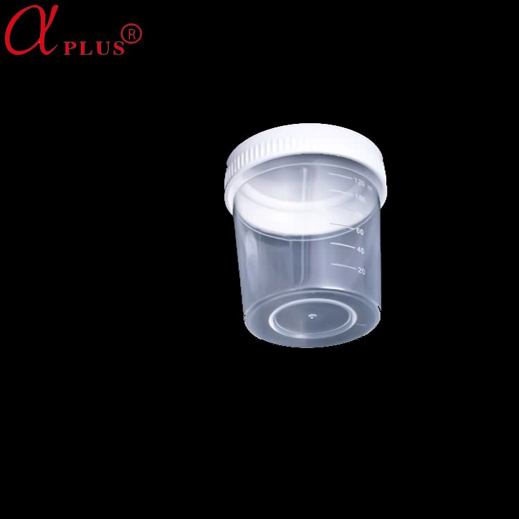 medical consumables disposable 120ml sterile urine container