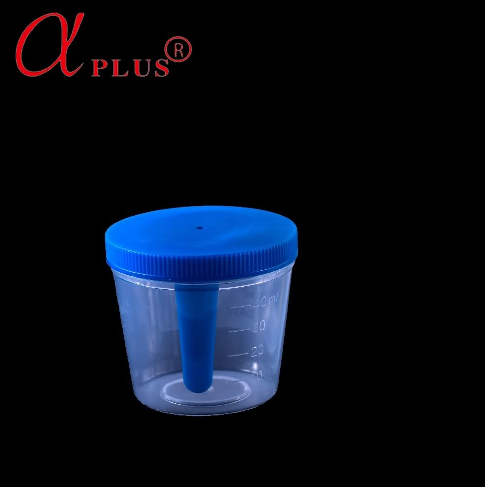 Urine and specimen collection urine sterile bottle with label