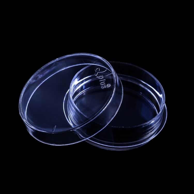 Wholesale transparent 35mm 60mm 90mm 100mm 120mm 150mm cell culture petri dish lab disposable tissue cell culture dishs
