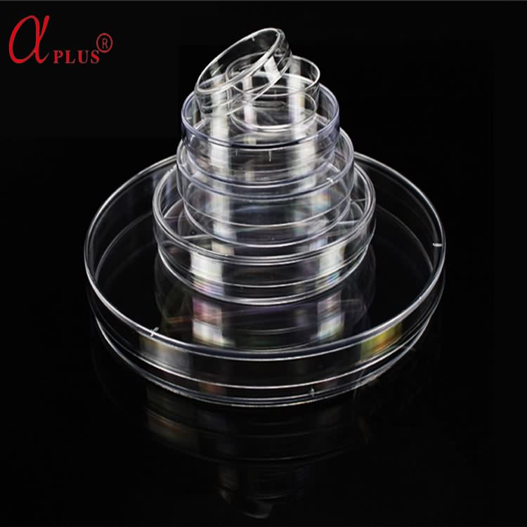 Lab plastic disposable sterile PS 35 60 65 70 90 150mm petri dishes