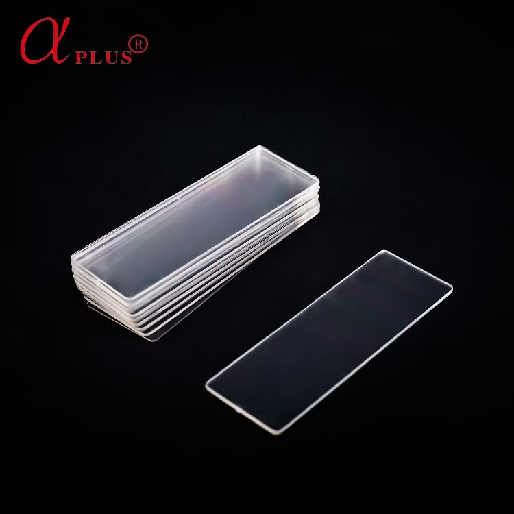 High quality disposable plastic microscope slide