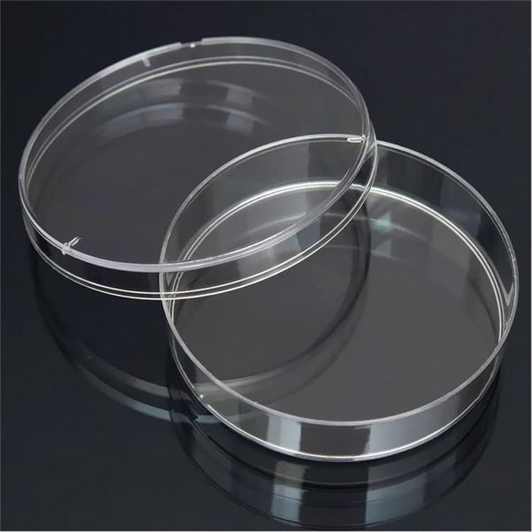 High quality disposable sterile 70mm petri dish container