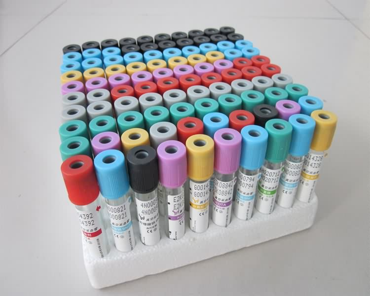 Medical vacuum blood collection test tube sodium citrate PT tubes