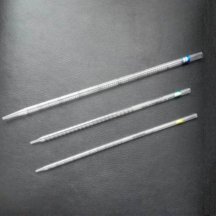 Disposable medical sterile serological pipette