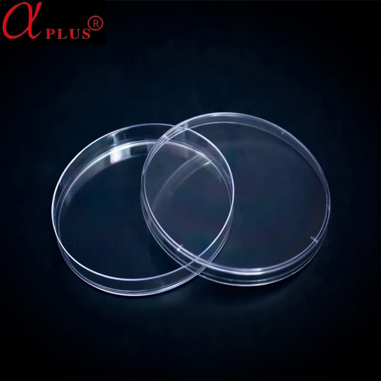 CE Approved Laboratory 75mm Disposable Petri Dish With Ear