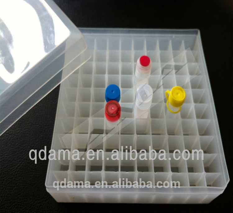 Cryovial tube box