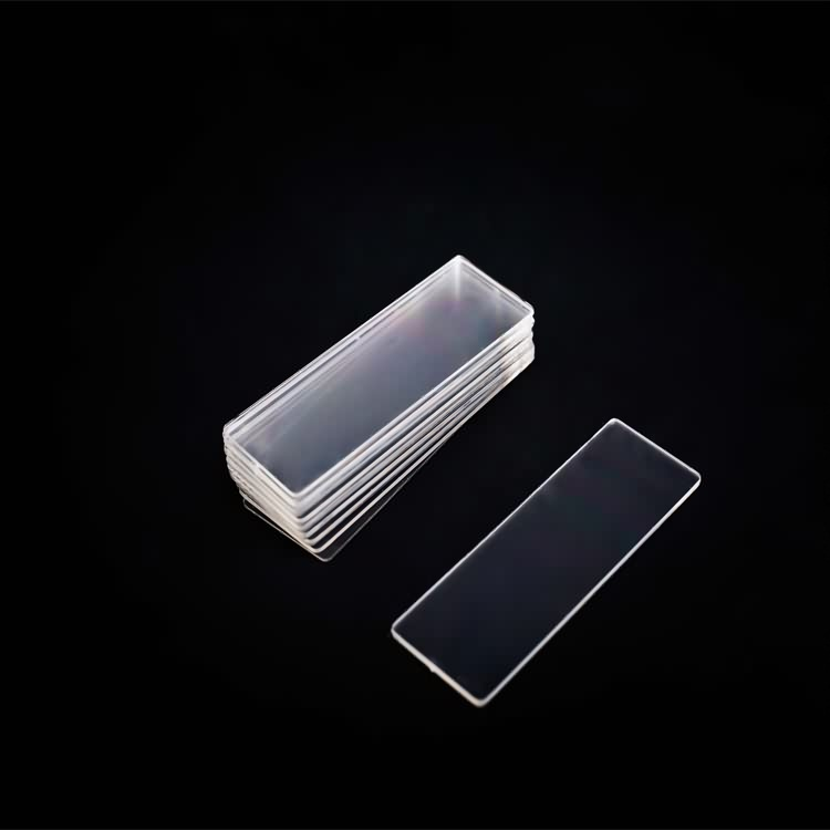 High quality lab consumable plastic glass microscope slide